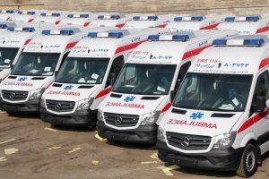 مزایده خودروهاي امدادي ( آتش نشاني ، آمبولانس و ...)