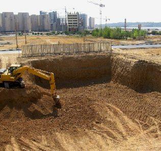 مناقصه عملیات خاکریزی در افوس